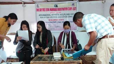 Arunachal: Free Marriage Registration Camp held