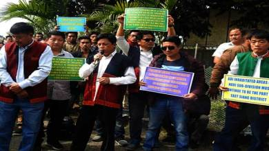 Arunachal: ABK demands for immediate public hearing on Korang circle and Depi, Depi-Moli and Detak villages