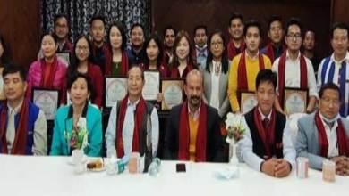 Arunachal: Academic Board Adi Baane Kebang felicitates APPSCCE 2020 selected officers and GDMOs