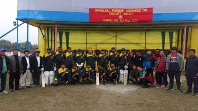 Arunachal: Army organises friendly cricket matches on statehood day