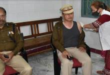 Arunachal DGP gets COVID Vaccine, appeals police personnelto come forward and get vaccinated