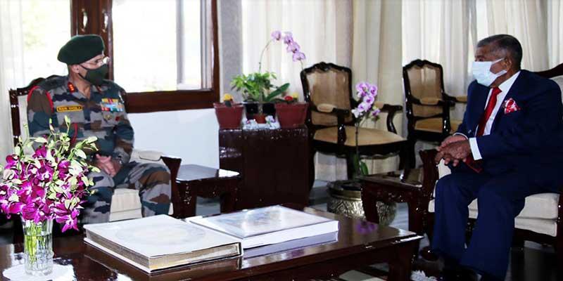 Arunachal: 4 Corps GOC calls on the Governor