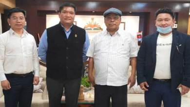 Itanagar: Pema Khandu takes stock of Mega Food Park project