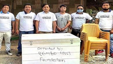 Arunachal: Rono Hills Foundation extends relief to JNC campus fire victim