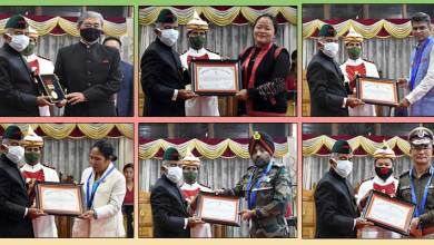 Arunachal Pradesh Governor confers State Awards
