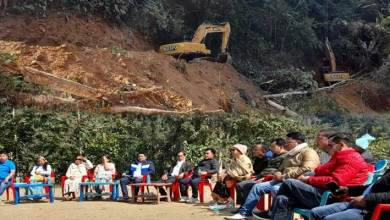 Panchayat leaders of West Siang with ABKYW meets on early completion of Potin-Pangin Trans Arunachal Highway