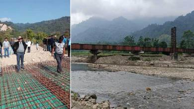 Arunachal: Tarin Dakpe inspected several projects in Dolungmukh area