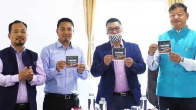 Itanagar: Tame Phassang launches IMC's promotional video of IMC 'To New Height'