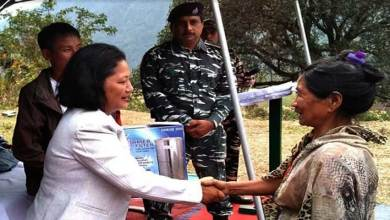 Arunachal: CRPF distributes water filters to Bodak villagers