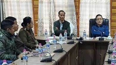Arunachal: Inter- State Co-ordination meeting inview of Assam Assembly Election