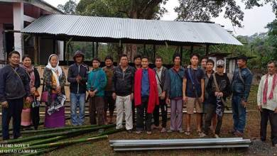 Arunachal: Villagers volunteer to construct two classrooms for Darne LPS