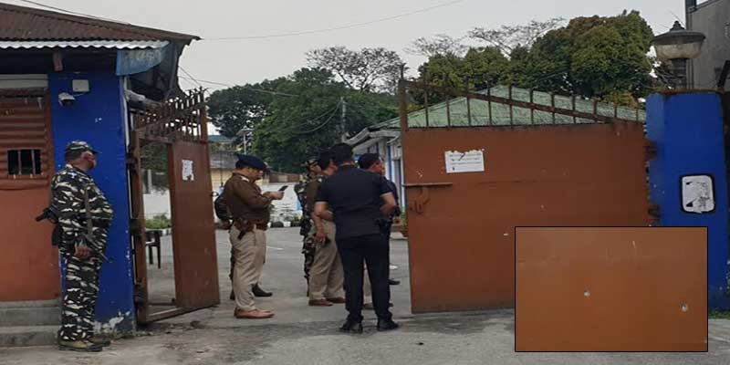 Itanagar: Miscreant open fire infront of Home Minister's Bungalow