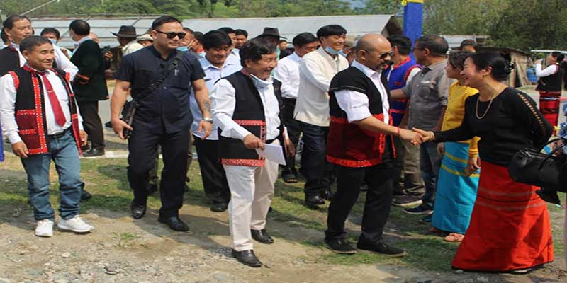 Arunachal: Moyong inaugurates new village 'Leging' near GTC Tebo