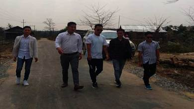 Arunachal: AAYA team visits Under Construction Roads at Bhalukpong