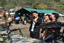 Arunachal: Army weapon & equipment displayed in Anjaw