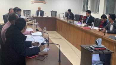 Itanagar: The CS took stock of the work of NH-415