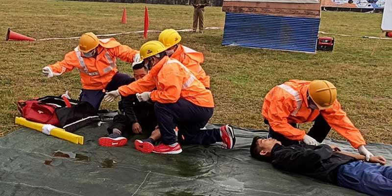 Arunachal: State level training of community volunteers on disaster response begins,