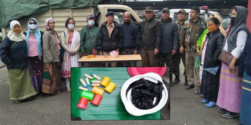 Arunachal: Police with WASE apprehended a drug peddler with 5. 2 grams heroin