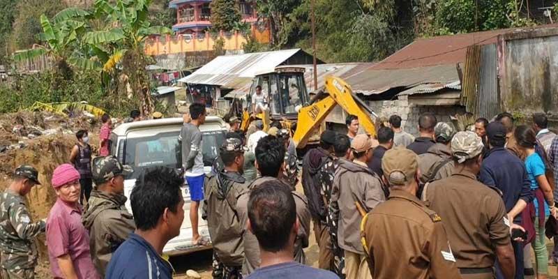 Arunachal: Eviction drive in Rakap colony