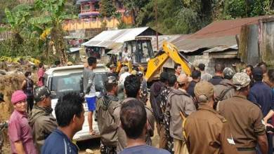 Arunachal: Eviction drive in Rakap colony