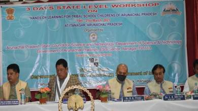 "Itanagar: Workshop on ""Hands on Learning activities for Tribal School Children's of Arunachal Pradesh"""