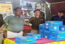 Itanagar: TK Engineering donates 150 pairs of shoes to Itanagar Traffic Warden