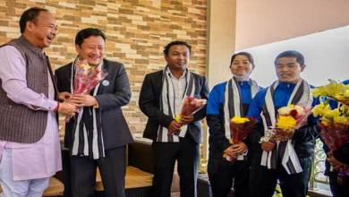 Itanaghar:  Mama Natung felicitates medal winners of 29th senior national Wushu championship