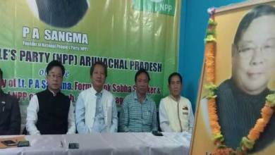 Itanagar: NPP observed 5th Death Anniversary of Late PA Sangma