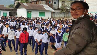 Arunachal: Covid-19 vaccination awareness campaign at Govt school