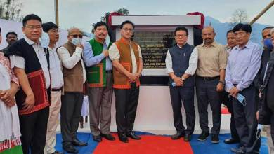 Taba Tedir lays foundation stone of academic block-A of Arunachal University