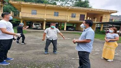 Itanagar: IMC continues its sanitization process to break the chain of COVID-19