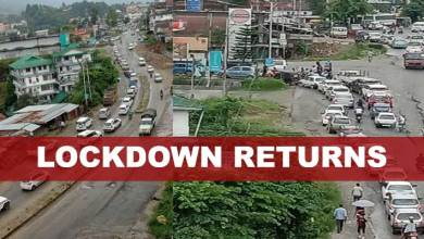 Arunachal: Itanagar Capital Region to observe lockdown from 10th to 17th May 2021