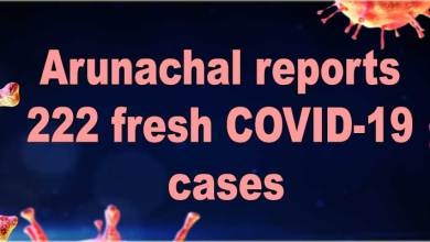 Arunachal reports 222 fresh COVID-19 cases, tally rises to 19634
