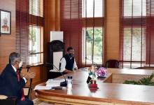 Arunachal- Governor reviews Covid Pandemic situation in the State