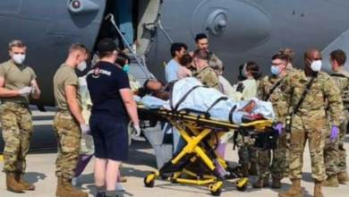 Afghan woman gives birth to baby girl onboard US evacuation flight from Kabul