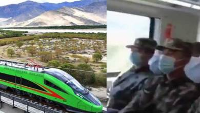 China's train in Tibet used for military mission: Media Reports
