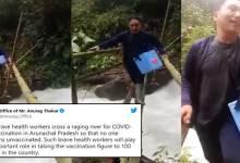 Union Minister Anurag Thakur appreciates Arunachal health worker's 'brave' act
