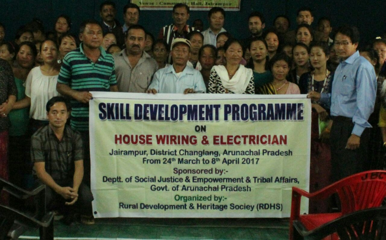 hight resolution of jairampur mar 25 local mla laisam simai after inaugurating a two week house wiring electrician training here today exhorted 35 local youths