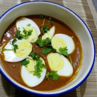 Quick Cooking ~ Egg Curry Recipe with Readymade Masala Paste