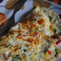 Weekend Indulgences~Masala Cheese Omelet
