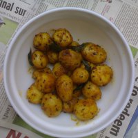 Recipe for Baby Potato with Nigella ~ Kalonji Aloo Recipe