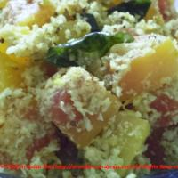 Recipe for Raw Papaya Thoran ~ Kerala Style