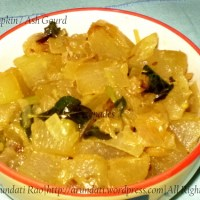 Recipe for White Pumpkin / Ash Gourd Stir Fry