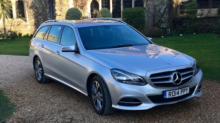 Mercedes E Class Estate part of the fleet used by Arundel Executive Cars