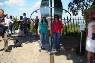 Two Hemispheres--East n West, Greenwich