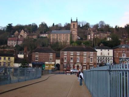 Beautiful Iron Bridge town