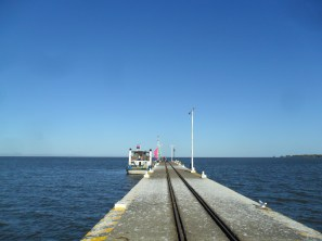 """The four o'clock ferry from Granada to Isla de Ometepe..."""