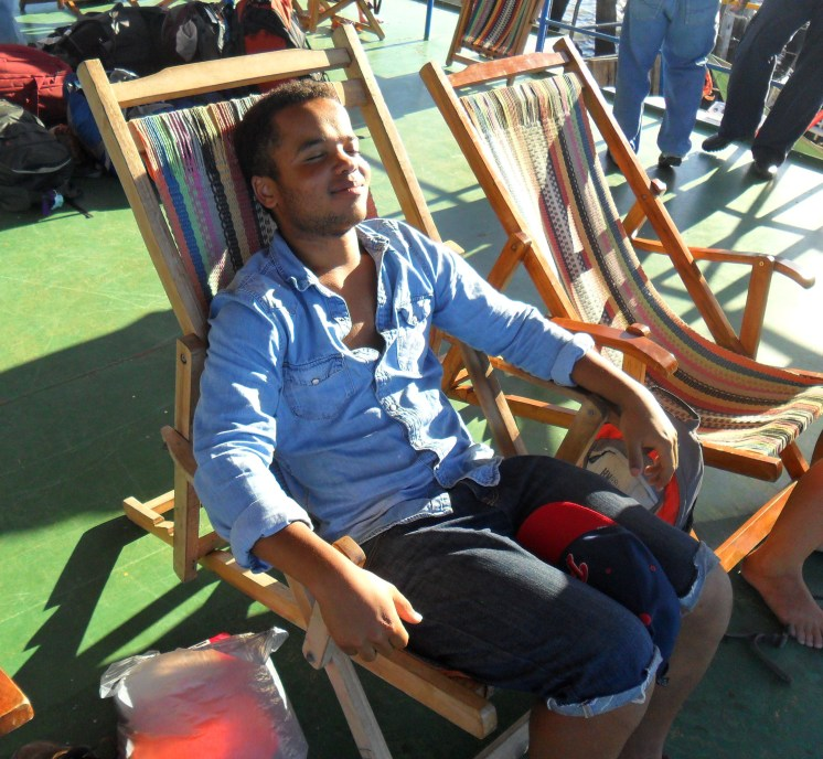 """""""...you'll be offered a deckchair from which you can watch the sun set on Granada."""""""