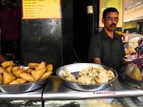 Pics of samosa, shabudana vada from Shri Krishna Snacks, Dadar Mumbai by Arun Shanbhag