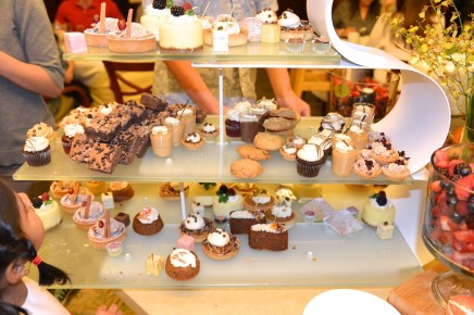 pictures of dessert at the Seaport Hotel Boston Thanksgiving Brunch by Arun Shanbhag